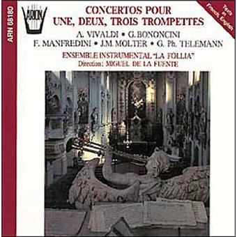 Concertos pour 1, 2, 3 trompettes