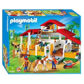 playmobil 4190 centre questre playmobil achat prix. Black Bedroom Furniture Sets. Home Design Ideas
