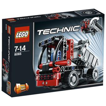 lego technic 8065 le mini camion benne lego achat prix fnac. Black Bedroom Furniture Sets. Home Design Ideas
