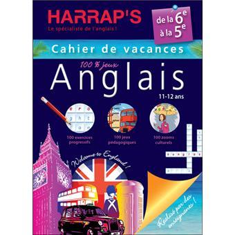 Harrap's cahier de vacances anglais 6ème/5ème
