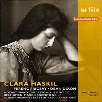 Clara haskil joue Mozart - Beethoven & Schumann