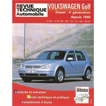 revue technique automobile 622 2 golf iv diesel sdi tdi 90 150 cv 98 03 broch etai. Black Bedroom Furniture Sets. Home Design Ideas