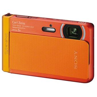 sony cyber shot dsc tx30 orange tanche 10 m appareil photo compact achat prix fnac. Black Bedroom Furniture Sets. Home Design Ideas