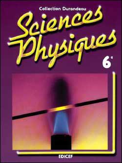 physique chimie 6eme