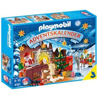 Calendrier L Avent Playmobil.Playmobil 4161 Calendrier De L Avent Atelier Du Pere Noel