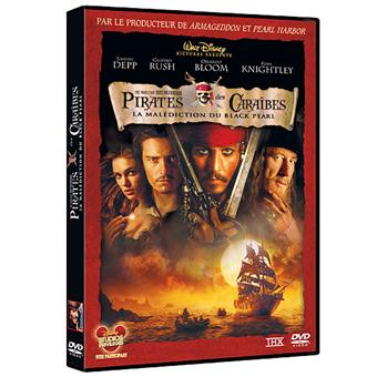Pirate Des CaraïbesPirates des Caraïbes La malédiction du Black Pearl DVD