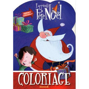 L'apprenti Père Noël : coloriage silhouette   broché   Collectif