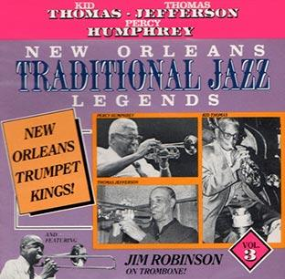 New Orleans traditional jazz legends volume 3