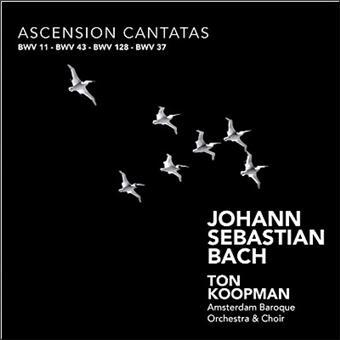 Ascension Cantatas BWV 11,37,43,128 - CD