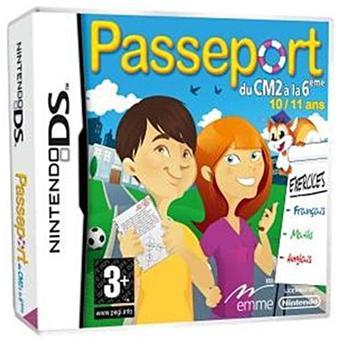 Passeport CM2 - 6ème