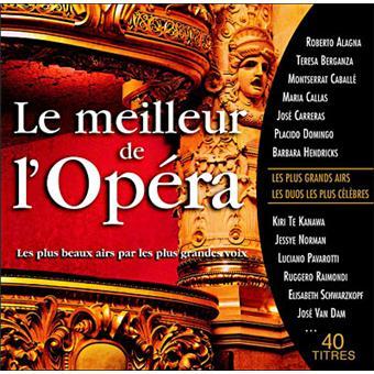 Le Meilleur de l'Opéra - Coffret 2CD