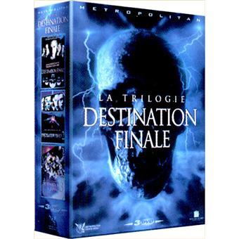 Coffret Destination Finale James Wong David R Ellis Dvd Zone