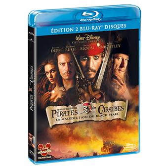 Pirate Des CaraïbesPirates des Caraïbes -  La Malédiction du Black Pearl - Edition blu-Ray