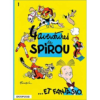 Spirou et FantasioQuatre aventures de Spirou et Fantasio