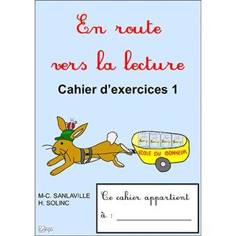 En route vers la lecture CP. Tome 2, Cahier d'exercices - Marie-Christine Sanlaville,Hélène Solinc