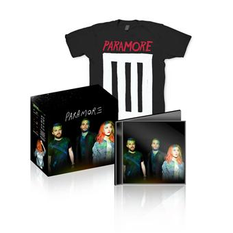Paramore - Inclus Tee-Shirt taille M
