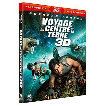 Voyage au centre de la Terre - Combo Blu-Ray 3D Active
