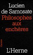 Les philosophes aux enchères