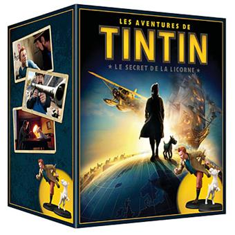Les Aventures De Tintin Le Secret De La Licorne Coffret Blu Ray