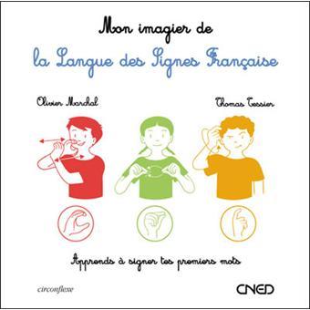 L'imagier à toucher de la langue des signes