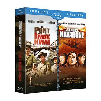 Le pont de la rivière Kwai - Les canons de Navarone - Coffret Blu-Ray