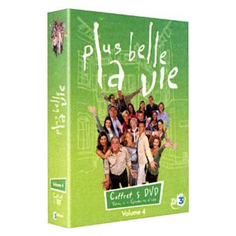 Plus belle la ViePlus belle la Vie - Coffret - Volume 4 - Episodes 91 à 120