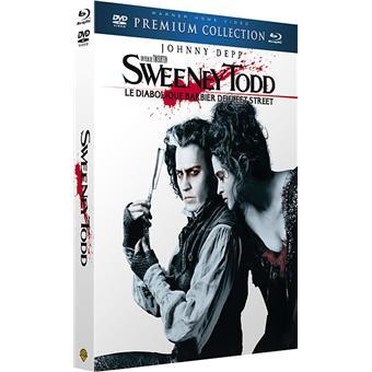 Sweeney Todd Le diabolique barbier de Fleet Street Premium Collection Combo Blu-ray + DVD