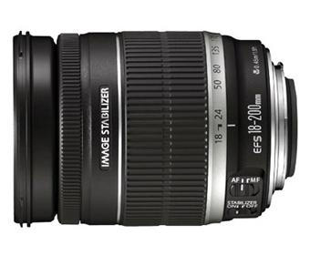 objectif reflex canon ef s 18 200 mm f 3 5 5 6 is zoom achat prix fnac. Black Bedroom Furniture Sets. Home Design Ideas