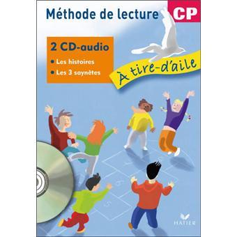 À tire-d'aile CP - CD audio des histoires à lire