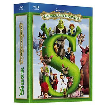 Coffret Shrek La Quadrilogie Blu-ray