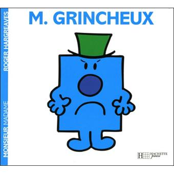Monsieur madame monsieur grincheux roger hargreaves - Monsieur grognon ...