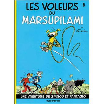 Spirou et FantasioLes Voleurs du marsupilami