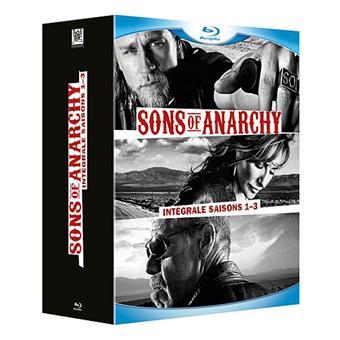 Sons of AnarchySons of Anarchy - Coffret intégral des Saison 1 à 3 - Blu-Ray