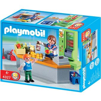 playmobil 4327 boutique et mat riel d 39 entretien playmobil achat prix fnac. Black Bedroom Furniture Sets. Home Design Ideas
