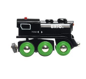 brio locomotive rechargeable 4 roues motrices circuit ou accessoire train en bois achat. Black Bedroom Furniture Sets. Home Design Ideas