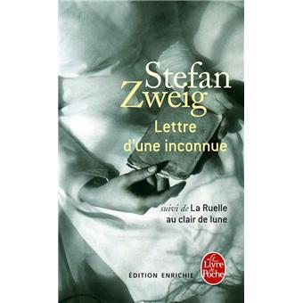 zweig lettre d\\\'une inconnue Lettre d'une inconnue   Poche   Stefan Zweig, Livre tous les  zweig lettre d\\\'une inconnue