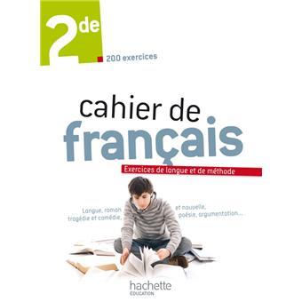 Cahier De Francais 2de