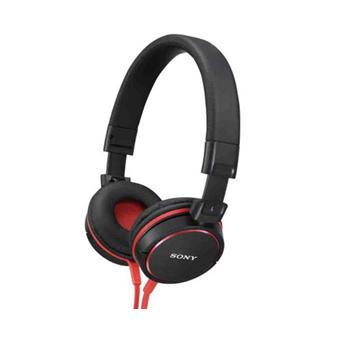 Casques et écouteurs SONY MDRZX600 ROUGE