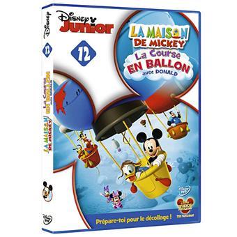 La Maison de MickeyLa Maison de Mickey Volume 12 La Course en ballon avec Donald DVD