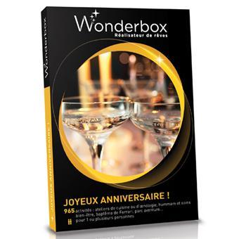 bon anniversaire wonderbox