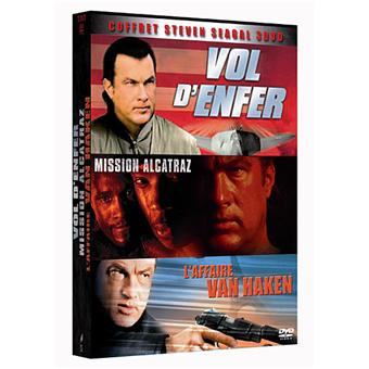 Vol d'enfer - Mission Alcatraz - L'Affaire Van Haken - Coffret