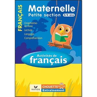 Francais Maternelle Petite Section