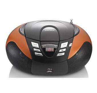Lenco SCD-37 USB Orange