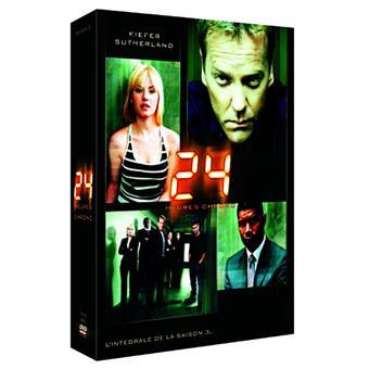 24 heures chrono24 heures chrono - Coffret intégral de la Saison 3