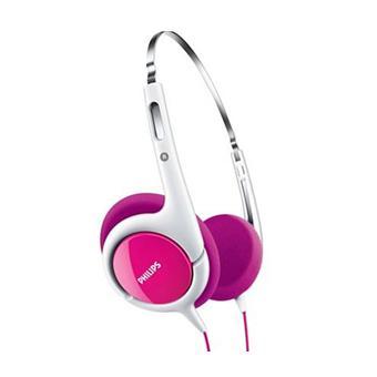 Casque Philips Shk1031 Rose Casque Audio Achat Prix Fnac