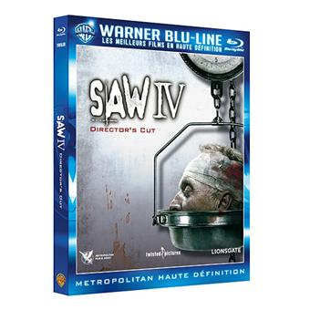 SawSaw IV - Blu-Ray - Edition Director's Cut
