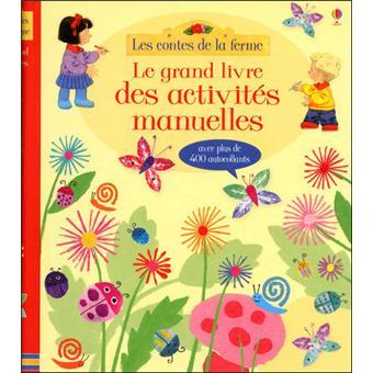 Mon grand livre d'activités - Les contes de la ferme