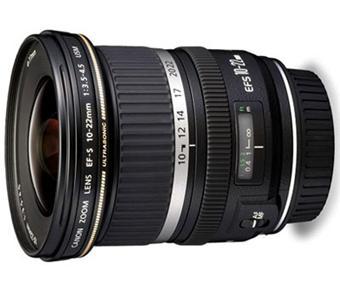 USM Canon EF-S 10-22 mm f / 3,5-4,5