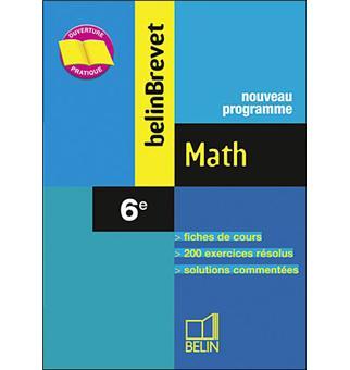 Belin Brevet Mathematiques 6eme