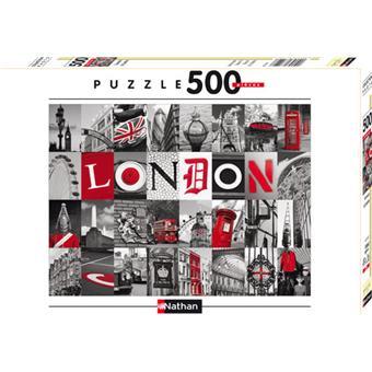 Nathan Puzzle Souvenirs de Londres 500 pcs